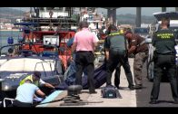 Rescatado el cadáver de una mujer flotando en el muelle pesquero de Algeciras