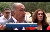 El alcalde participa junto al Consejero de Cultura en la visita guiada por Carteia