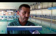 El alcalde supervisa las mejoras realizadas en la maquinaria de la piscina cubierta municipal