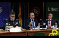 Reunión entre responsables de la UNED y Cuerpo Nacional de Policía en Algeciras