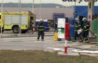Dos heridos, uno de ellos grave, a consecuencia de una deflagración en una gasolinera de Palmones