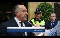 El alcalde reitera el apoyo institucional a los integrantes de la Policía Local