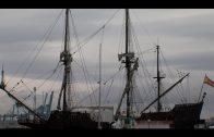 El Galeón Andalucía llega a Algeciras y abre su cubierta al público