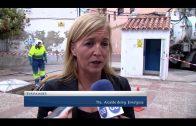 Emalgesa limpia el bombeo y los imbornales de la plaza de la Comarca en la Cuesta del Rayo