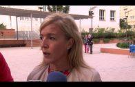 Emalgesa limpia las rejillas de pluviales de la plaza Manéndez Tolosa