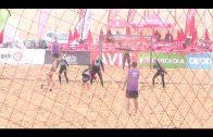 """Las """"Cats"""" ganan la  Champions Cup de Balonmano Playa"""