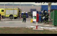 Los sindicatos convocan concentración ante la muerte de un trabajador en la gasolinera de Palmones