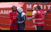Rescatados seis inmigrantes que intentaban cruzar el Estrecho en dos embarcaciones