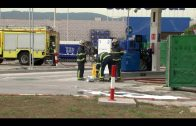 Sindicatos convocan una concentración ante la muerte de un trabajador en la gasolinera de Palmones