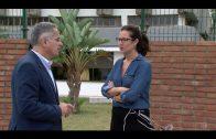 Conesa y Cid visitan la residencia de San José Artesano para interesarse por su situación