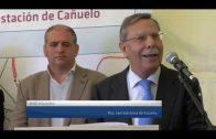 El presidente de Red Eléctrica de España visitado la subestación de El Cañuelo
