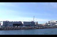 Gibraltar abre una investigación tras un derrame de petróleo entre dos buques