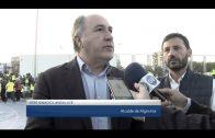 Landaluce anuncia las mejoras que se llevarán a cabo en el Estadio Municipal Enrique Talavera