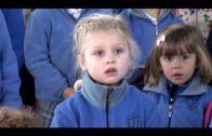 El colegio Los Milagros espanta al Gigante Botafuegos para recibir a los Reyes Magos