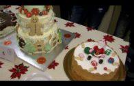 El concurso de repostería navideña se salda con un rotundo éxito de participación y de público