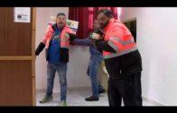 La Fundación de Asistencia Social del Puerto entrega alimentos en parroquias y asilo
