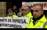 Los operarios despedidos de Algesa comienzan su huelga de hambre