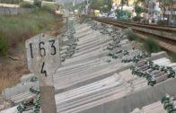 El alcalde informa de la llegada de las últimas traviesas y raíles para el tramo Algeciras-Almoraima