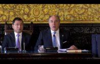 Embajadores de seis países son recibidos en el Salón de Plenos y visitan nuestra ciudad