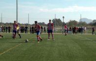 La base del Algeciras CF en busca de buenos resultados en el fin de semana.