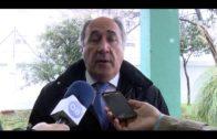El alcalde supervisa los trabajos en el CEIP Andalucía, afectado por el temporal