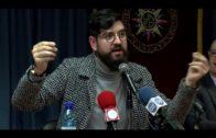 Enorme expectación en la UNED en la conferencia de  Manu Sánchez