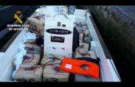 La Guardia Civil interviene más de dos toneladas de hachís en Guadalmesí, Algeciras