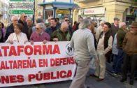 Mañana en la Plaza Alta a las 11.00h,  manifestación por las pensiones dignas