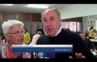 El alcalde comparte una merienda con vecinos de la Asociación «Alfredo Zanalegui» de El Rinconcillo