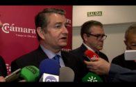 El delegado del Gobierno en Andalucía explica los avances en el PIF y recinto fiscal de Zona Franca