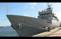 """El patrullero de la Armada Española """"Atalaya"""" hace escala en Algeciras"""