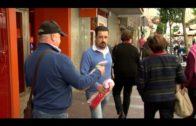 Jubilados y Pensionistas CC.OO Algeciras recogen firmas en defensa del sistema público de pensiones