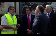 Landaluce reitera que las obras de modernización de la Algeciras-Bobadilla son una realidad