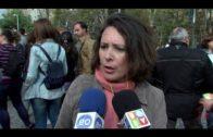 Unas 300 personas se manifiestan en Algeciras para pedir el arreglo urgente del CEIP Mediterráneo