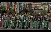 689 ciudadanos participan en el multitudinario acto de la Jura de Bandera para personal civil