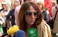 Cientos de personas se manifiestan el 1º de mayo en Algeciras