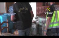 """Desarticulada una organización  de tráfico internacional de hachís y """"vuelcos"""" a narcotraficantes"""