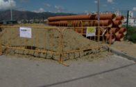 El alcalde supervisa las obras de mejora de la calle Isabel Pantoja en La Juliana