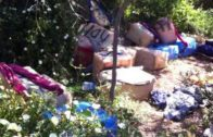 La Guardia Civil interviene más de una tonelada de hachís en Cala Botija.