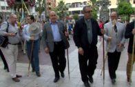 Landaluce despide a los romeros algecireños en el inicio de la peregrinación hacia El Rocío