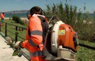 Zarzuela y Ávila supervisan los trabajos de desbroce en la Avenida el Embarcadero