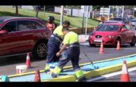 CCOO denuncia la utilización del personal de mantenimiento de colegios para pintar rotondas