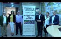 """Inaugurada la exposición """"Deambulando por la creación"""" de Bernardo Collado en la Sala Cajasur"""