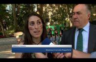 La V Pequeferia se celebra en el parque gracias a la organización de estudiantes del IES Levante
