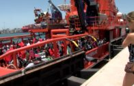 Continúa la llegada de migrantes a la costa del Estrecho