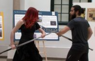 Dos algecireños en el IIº Torneo de Hierro de esgrima histórica