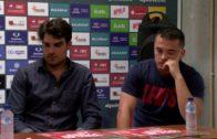 El Algeciras presenta a Fran No y a Borja Maderal