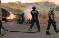 Incendio de pastos en Cortijo Vides