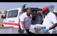 Rescatados 109 inmigrantes de tres pateras en aguas del Estrecho