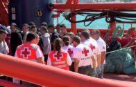 Rescatados 62 inmigrantes, cinco de ellos menores, de dos pateras en aguas del Estrecho